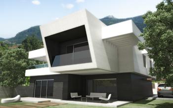 Fachadas minimalistas 2015 for Muebles santiago aranjuez